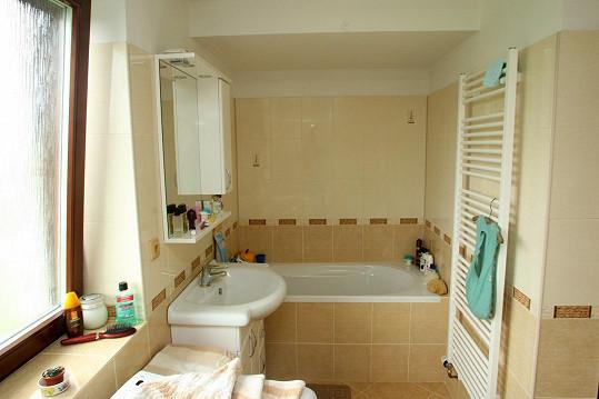Takto vypadá hereččina koupelna.