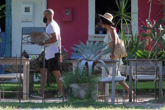 Solange s manželem Alanem