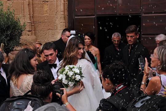 Canalis s Perrim se vzali po necelém roce známosti.