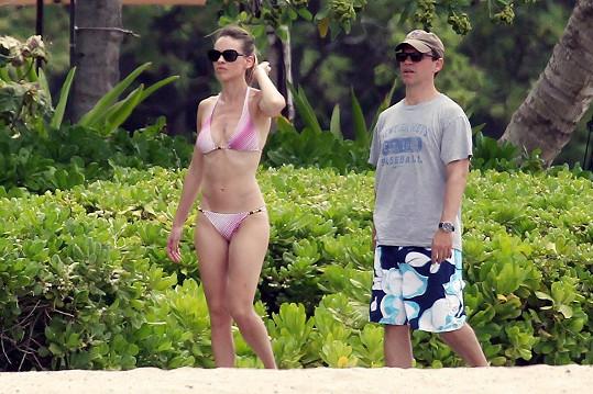 Hilary s přítelem Johnem Campisim