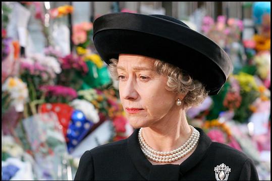 Helen Mirren ve filmu Královna(2006), který jí zajistil Oscara.