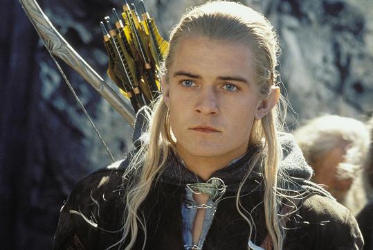 Orlando jako Legolas v trilogii Pán prstenů.