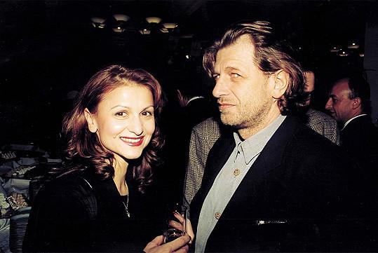 Yvetta Blanarovičová v roce 1999 se svým partnerem Janem Mlezivou