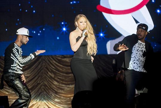 Černá však Mariah lichotila nejvíc...