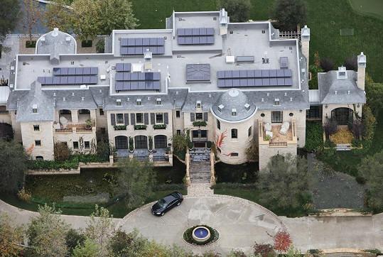 Dům Gisele Bündchen a Toma Bradyho.