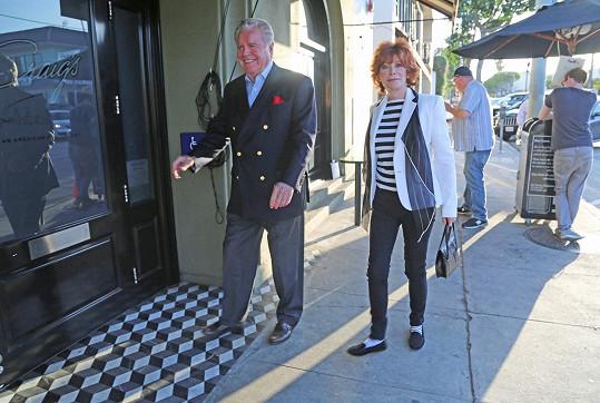 Jill s manželem.