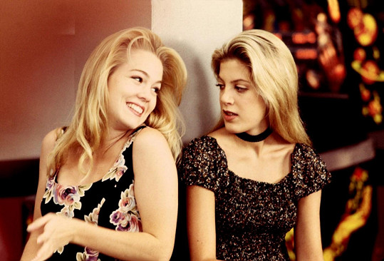 Herečky v dobách natáčení Beverly Hills 90210