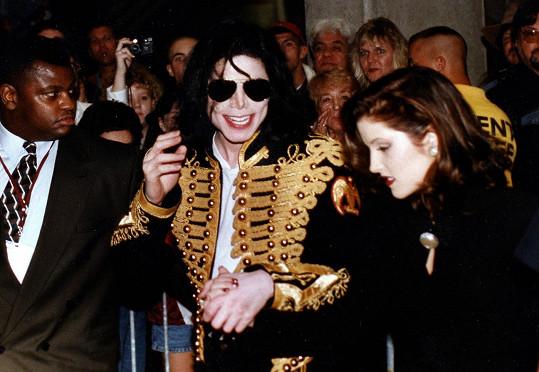 Michael Jackson s Lisou Marií Presley