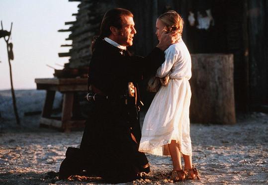 Skye s Melem Gibsonem ve filmu Patriot