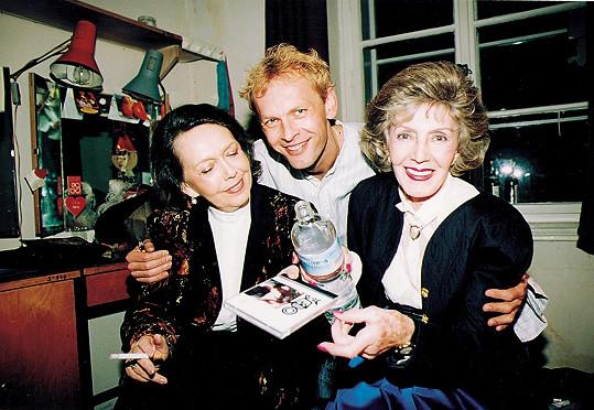 Ljuba Hermanová (vpravo) jí neodpustila výběr partnerů.
