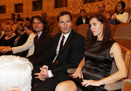 Robert Záruba a Nora Fridrichová se po delší době objevili ve společnosti.