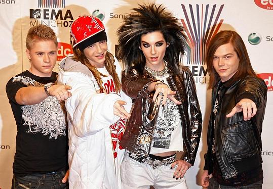 Kapela na snímku z roku 2007 na MTV Europe Music Awards