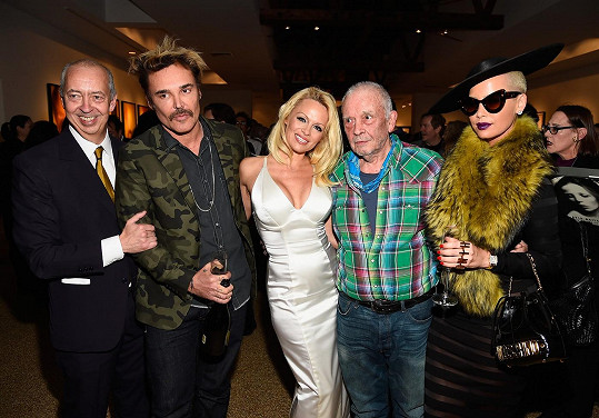 Benedikt Taschen, David LaChapelle, Pamela Anderson, David Bailey a Amber Rose.