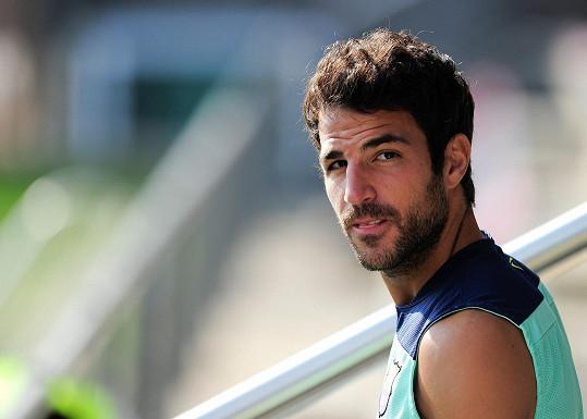 Francesco Fabregas je dalším Španělem mezi sexy fotbalisty.