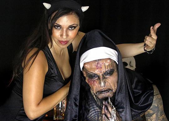 DJ Devil Man má kšefty hlavně teď, v období Halloweenu.