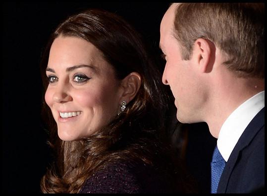 Vévodkyni Kate už je zase hej...