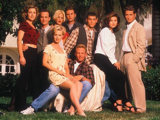 Nezapomenutelná seriálová partička z Beverly Hills