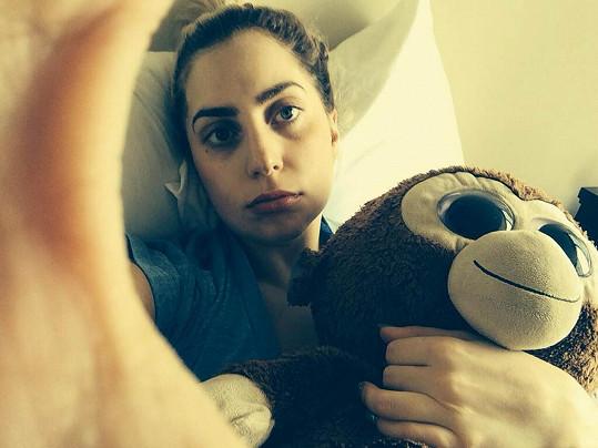 A takhle vypadá Lady Gaga v civilu.