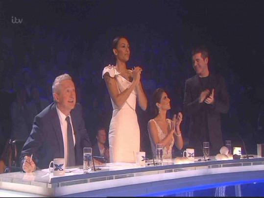 Mel B jako porotkyně v britském X Factoru