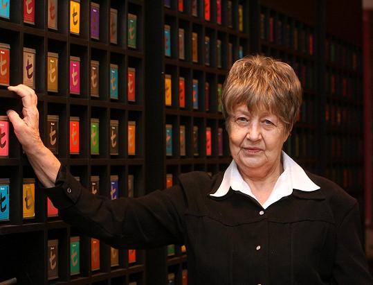 Marie Kyselková je dnes paní v letech.