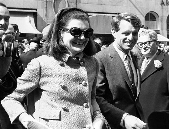 Tihle dva si byli po smrti Johna Kennedyho hodně blízcí.