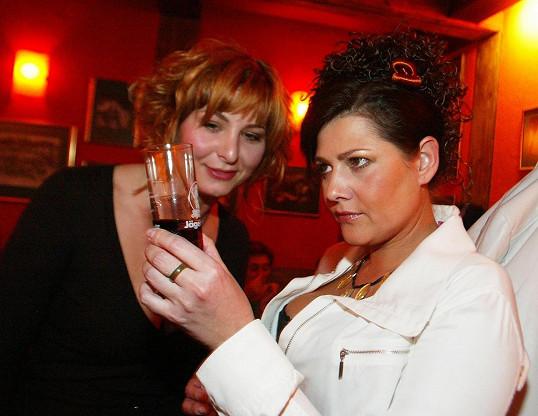 Ivana s Ilonou v době, kdy je kromě paření zajímala také ezoterika...