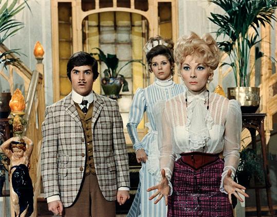 V komedii Hibernatus (1969) si Olivier poprvé zahrál syna svého otce.