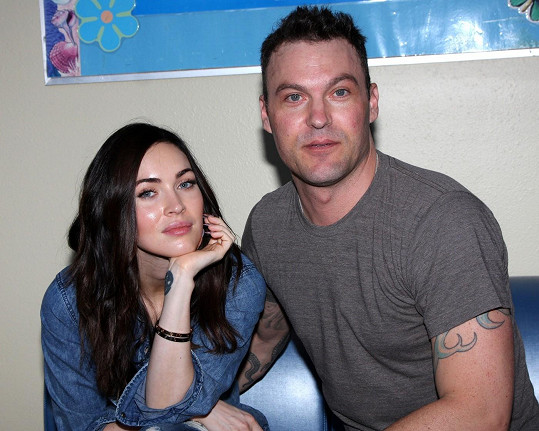 Brian Austin Green s manželkou Megan Fox.