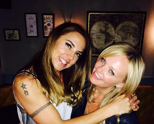 Mel C a Emma jsou stále kamarádky.