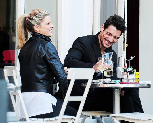 Mollie s Davidem v roce 2012