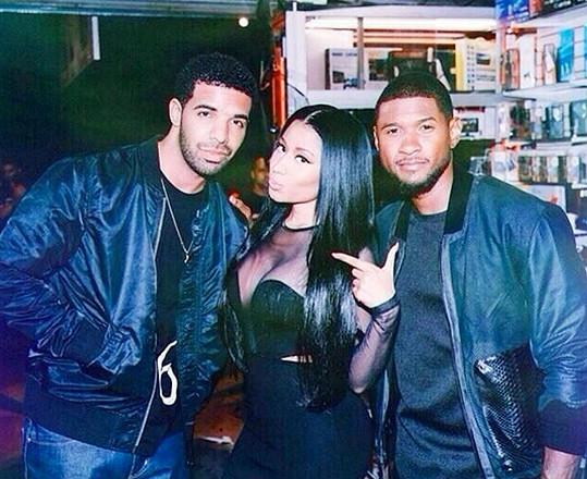 Nicki s kolegy z raperské branže.