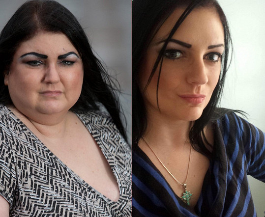 Padesát kilogramů navrch jí přidalo deset let.
