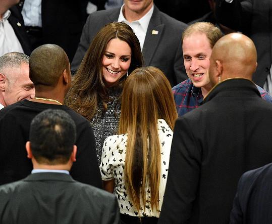 Setkání s Beyoncé a jejím manželem na basketbalovém zápase