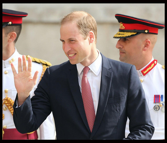 William musel na Maltu vyrazit sám.