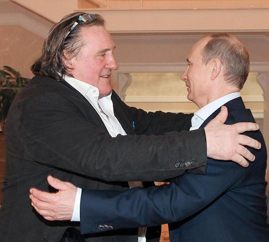 S ruským prezidentem Vladimirem Putinem ho pojí vřelé přátelství.