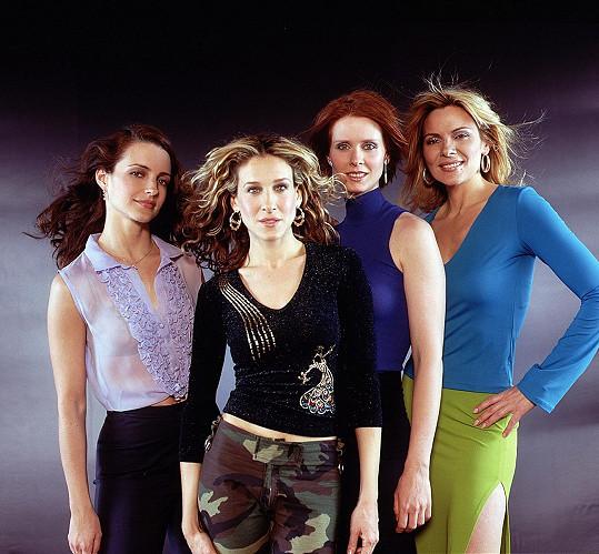 Takhle herečky vypadaly v počátkcích kultovního seriálu.
