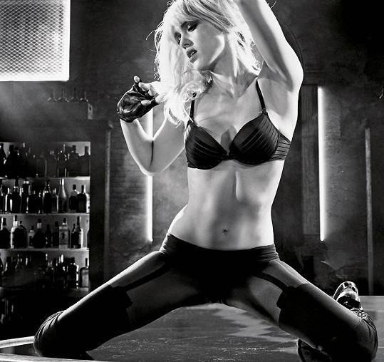 Takhle se herečka předvede v novém Sin City.