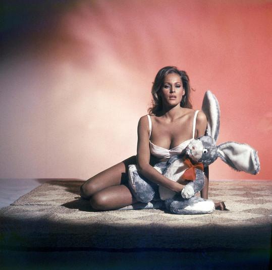 Ursula Andress byla ztělesněním tajným mužských představ.