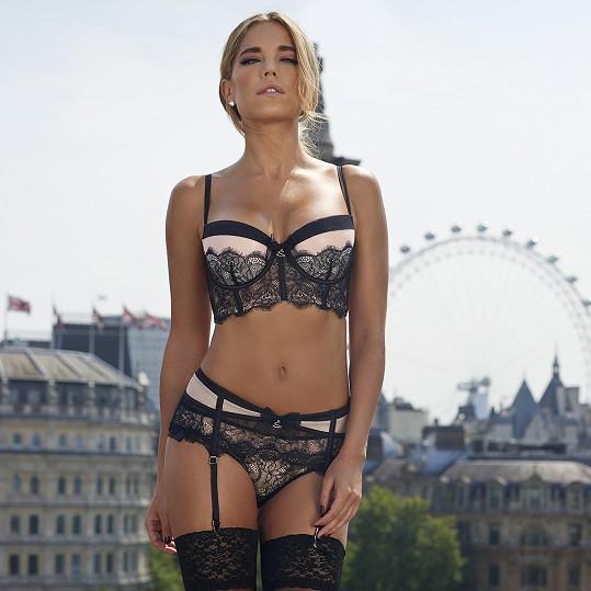 Nizozemská modelka je exmanželkou slavného fotbalisty Rafaela van der Vaarta.