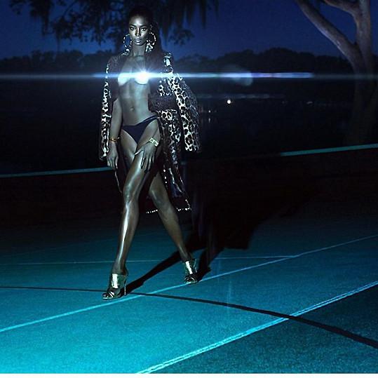 Naomi Campbell pro Givenchy