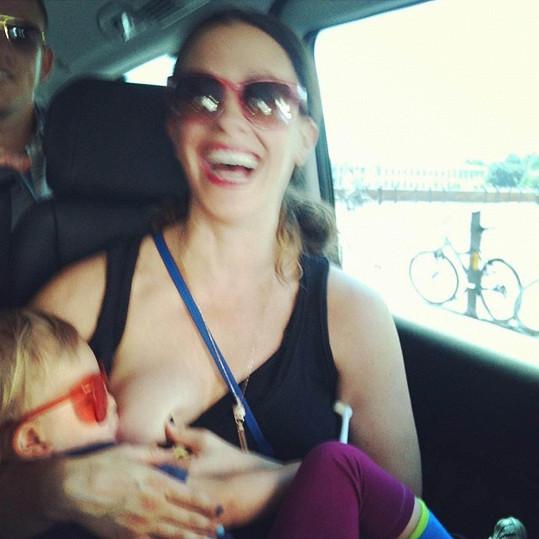 Alanis Morissette se synem Everem