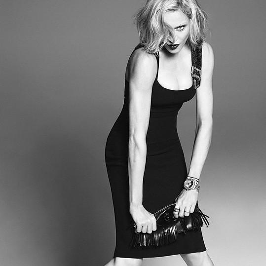 Madonna se předvedla jako modelka.