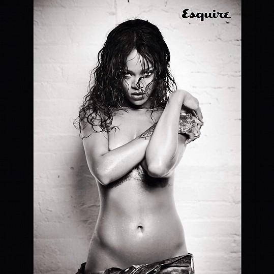 Rihanna pro speciální vydání časopisu Esquire