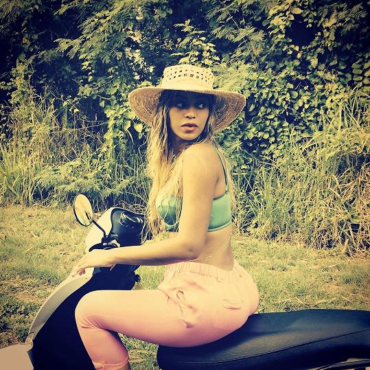 Beyoncé si užila pár dní bez pracovních povinností.