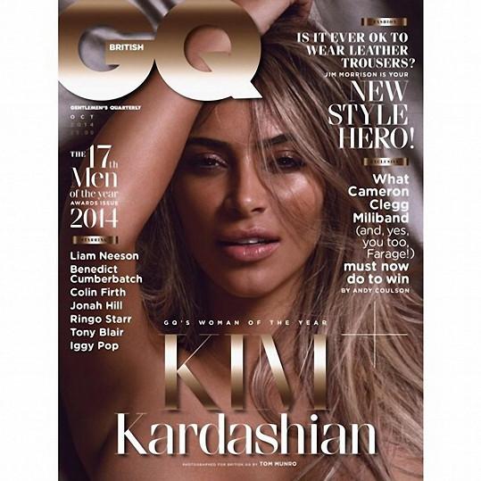 Nové číslo magazínu GQ s Ženou roku Kim Kardashian