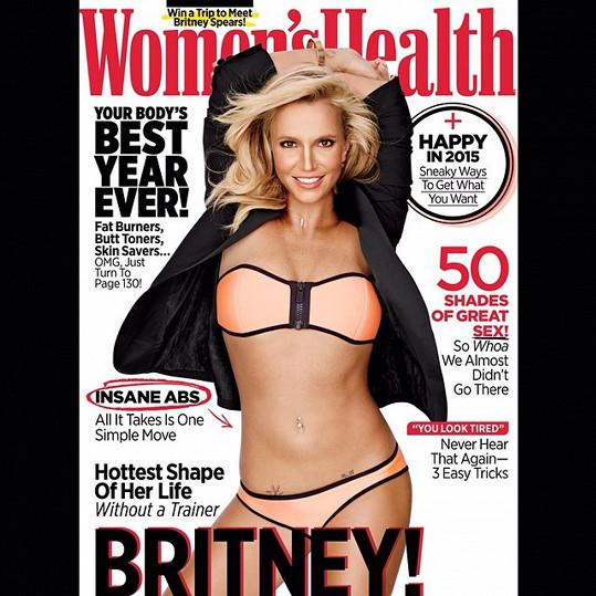 Takhle Britney zazářila na titulce časopisu.