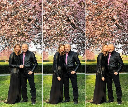 Ivana Gottová poslala manželovi do nebe dojemný vzkaz.