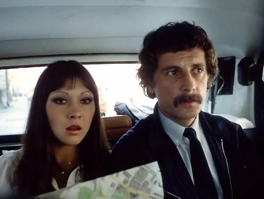 Dagmar Patrasová a Jiří Datel Novotný v Návštěvnících (1983)