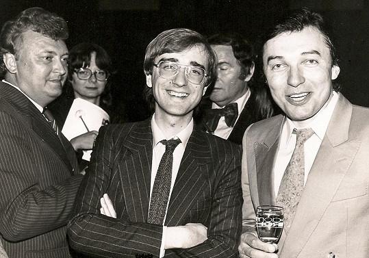 V roce 1982 s Karlem Gottem