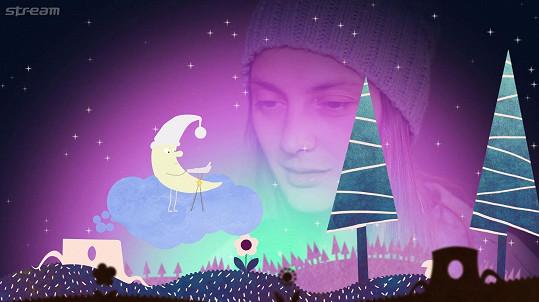 Bára (nejen pro Ronju) nazpívala ukolébavku Vyletěla holubička.